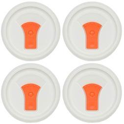 Corningware FM-22-VPC 20oz Orange Round Soup Mug Pop-Ins Ven