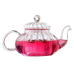 <font><b>Glass</b></font> Teapot with Infuser Lid - Borosili