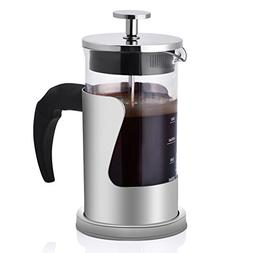 French Press Coffee Maker for 2 to 3 Cups, Ejoyous 20 OZ Cof