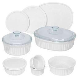 CorningWare® French White® 12-pc. Mixed Bowls Bake S