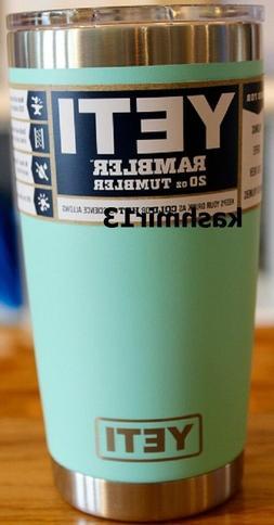 Genuine Yeti 20 oz Rambler Tumbler with MagSlider Lid - Bran