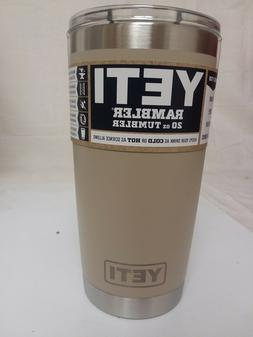 Genuine Yeti 20oz Tumbler SAND NEW!!!!