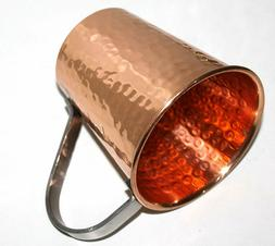 Gift Set Authentic Solid Copper Moscow Mule Mugs Cups with S