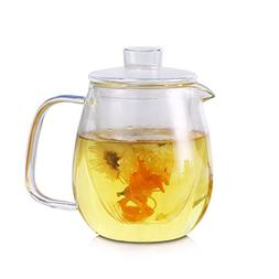 Glass Water Pitcher With Lid & Infuser - Borosilicate Glass