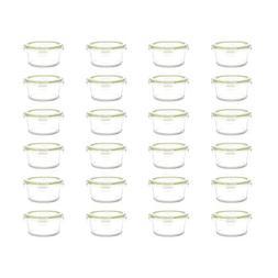 Kinetic GoGreen Glassworks 20oz Round Oven Safe Glass Food S