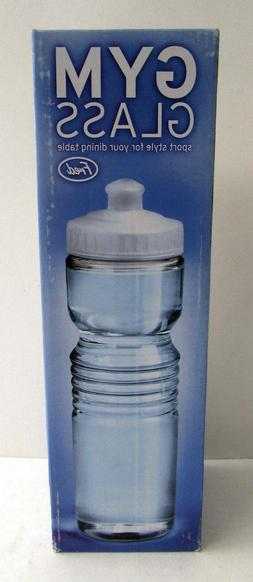 gym glass carafe novelty water