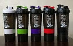 Gym Protein Shaker Bottle Mixer Blender Shake Cup  20 Oz