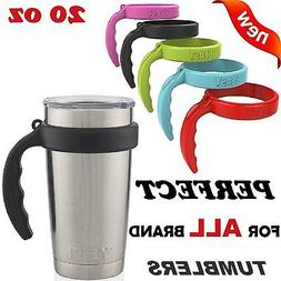 Handles for 20 Oz Tumblers Rambler Cup Holders Anti-Slip Cof