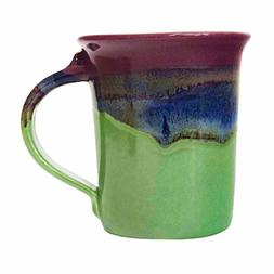 Clay in Motion Handmade Ceramic Small Mug 10oz - Mossy Creek