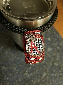 Handmade Paracord handle for Yeti or RTIC tumbler in Alabama