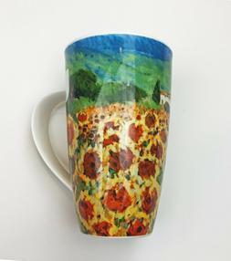 henley paysage sunflower 20 oz mug