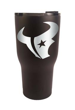 Houston Texans RTIC Laser Engraved 20 or 30 oz. Stainless St