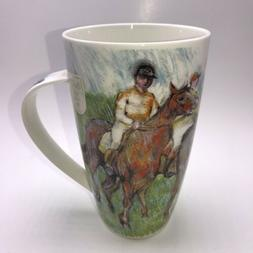 Dunoon Impressionists The Races Edgar Degas Bone China Henle