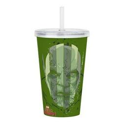 CafePress Insulated Straw Cup, 20oz Acrylic Double-Wall Tumb