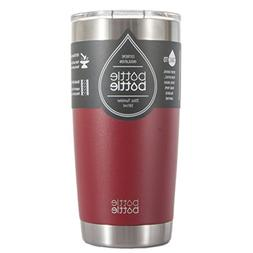 Bottlebottle 20 oz Insulated Tumbler Cup Stainless Steel Tra