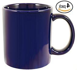 ITI Ceramic Jumbo Coffee Mugs with Pan Scraper, 20 Ounce