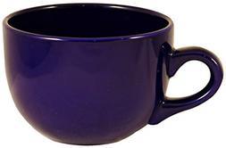 ITI Ceramic Seattle Latte Coffee Mugs with Pan Scraper, 24 O