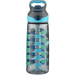 Contigo 20 oz. Kid's Striker Autospout Water Bottle -Charcoa