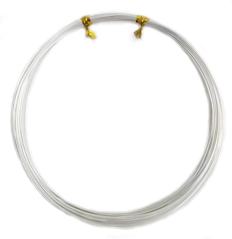 1 Ounce Silver Wire Round, Soft - From Craft