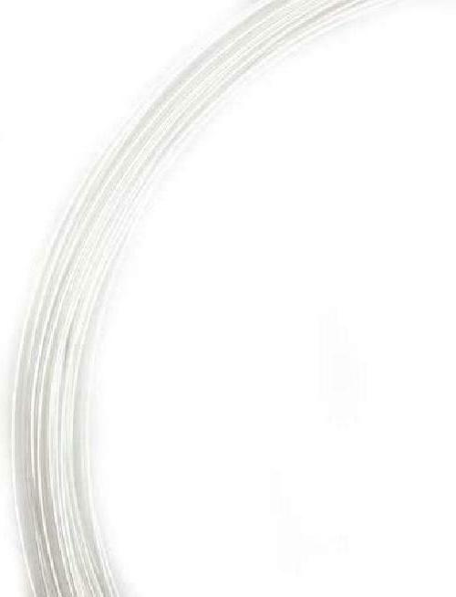 1 Ounce 925 Sterling Silver Wire 20 Gauge, Round, Dead From