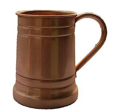 1 X Handmade Solid Copper Moscow Mule Mug Large Tankard Capa