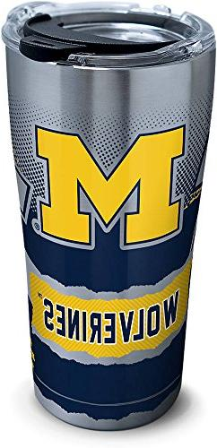Tervis 1266056 Michigan Wolverines Knockout Stainless Steel