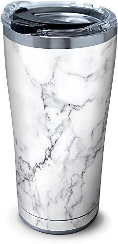 Tervis 1284376 Marble Swirl Stainless Steel Tumbler with Cle