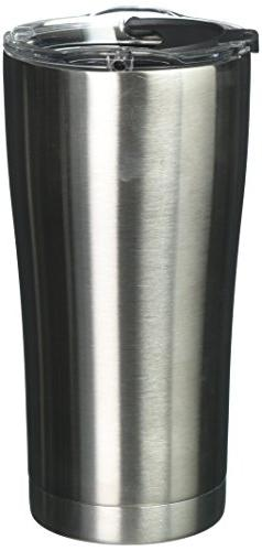 Tervis 1287295 Stainless Stainless Steel Tumbler with Clear