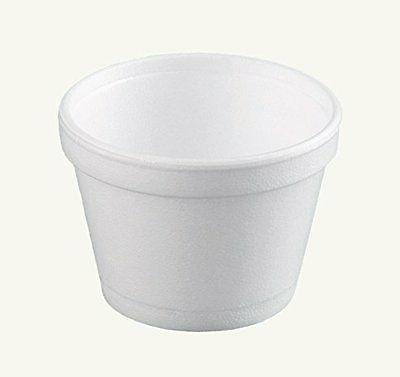 Dart 12SJ20, 12-Oz White Foam Food Container with Vented Lid