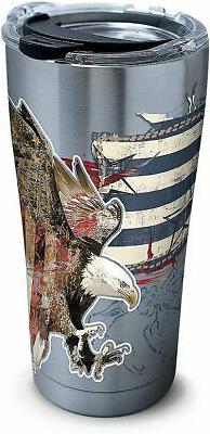 Tervis 1305035 Americana Distressed Flag Insulated Tumbler,