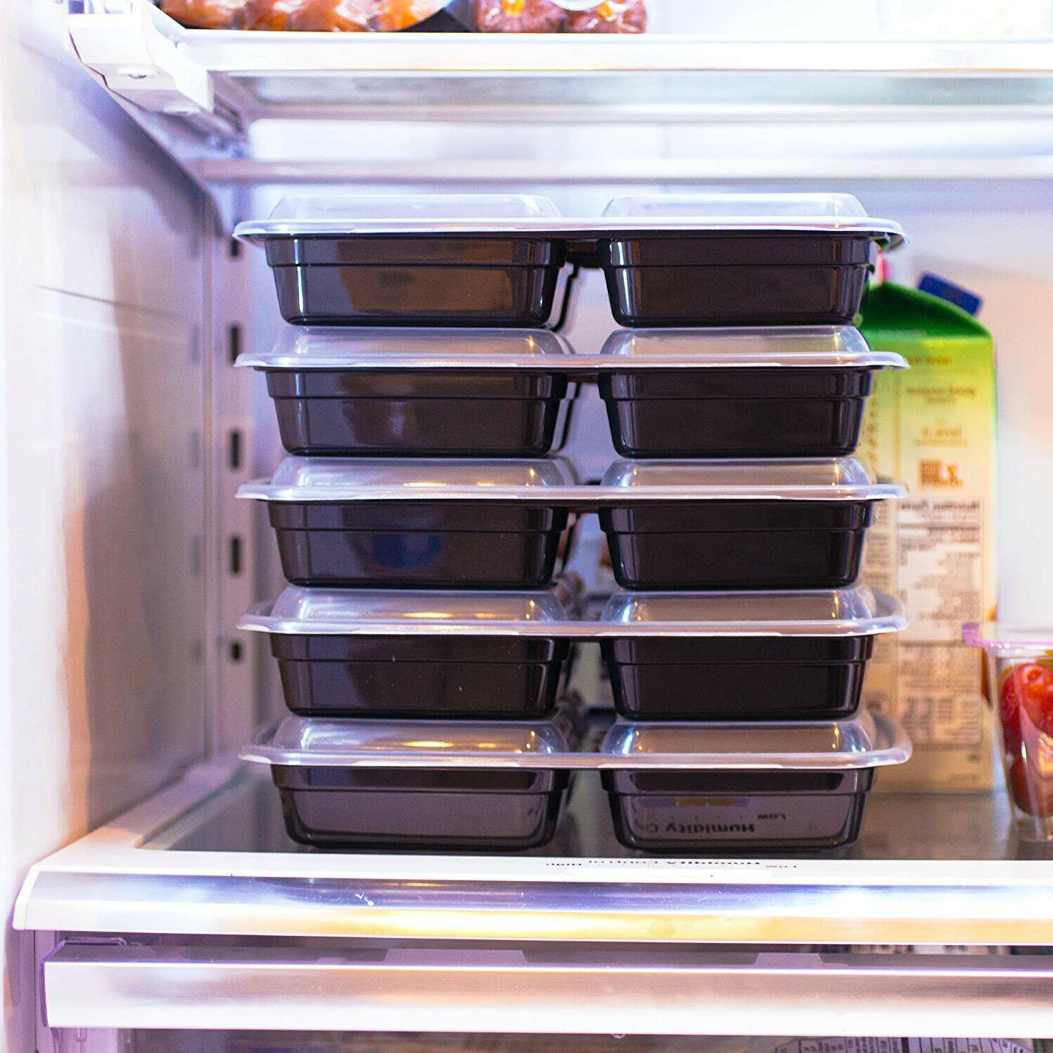 20 Meal Containers 3 Storage Bento 36