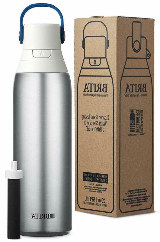 Brita Ounce Premium Filtering Filter BPA Stainless