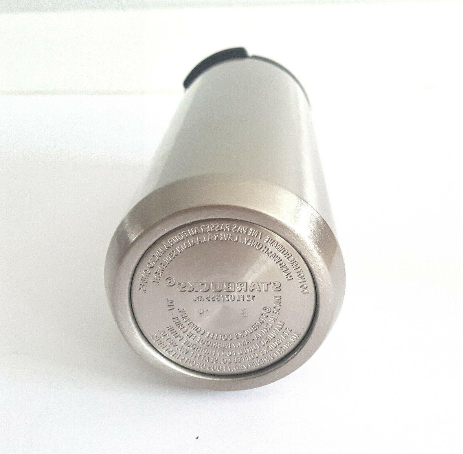 Starbucks oz 12 oz Vacuum Stainless Steel - 17% MSRP