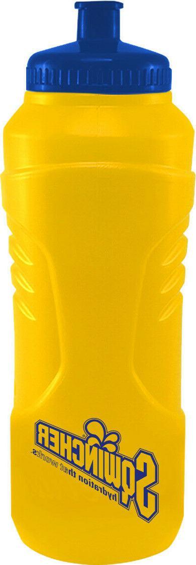 20 oz bike squeeze bottles yellow navy