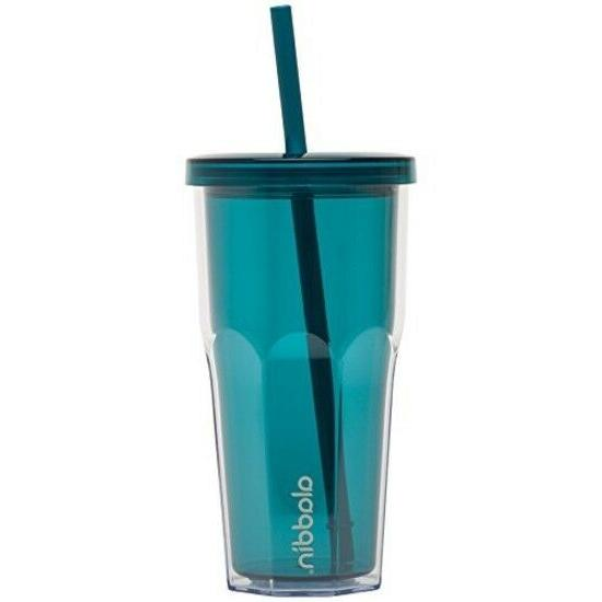 20 oz. Double Wall Insulated Tumbler Smoothies Plastic Drink