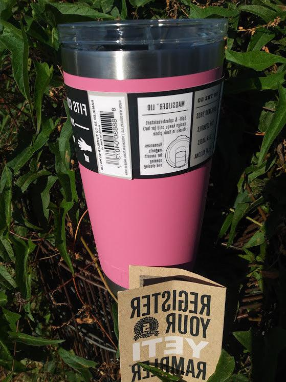 YETI Pink Tumbler with mag lid - Edition