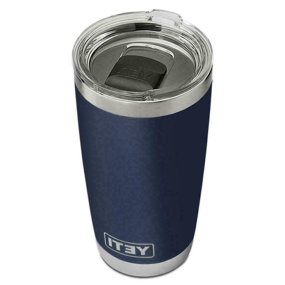 20 oz navy blue rambler stainless steel
