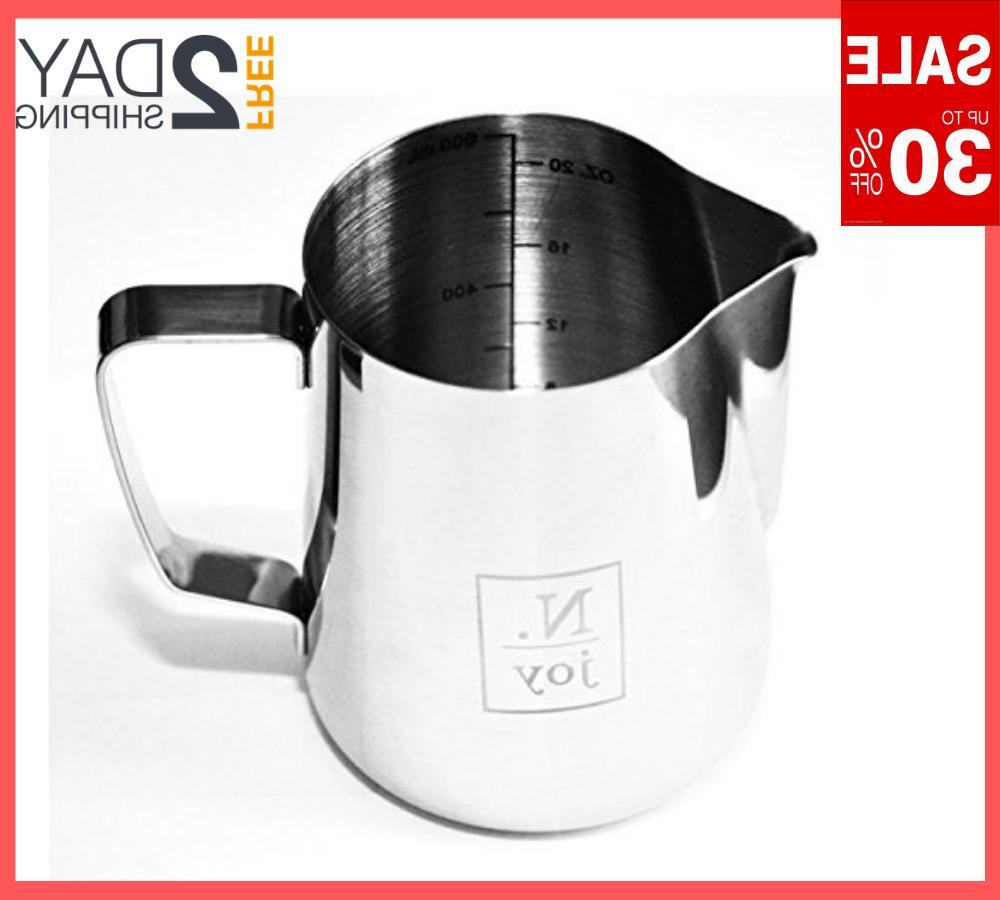 20 oz stainless steel milk cafe pitcher