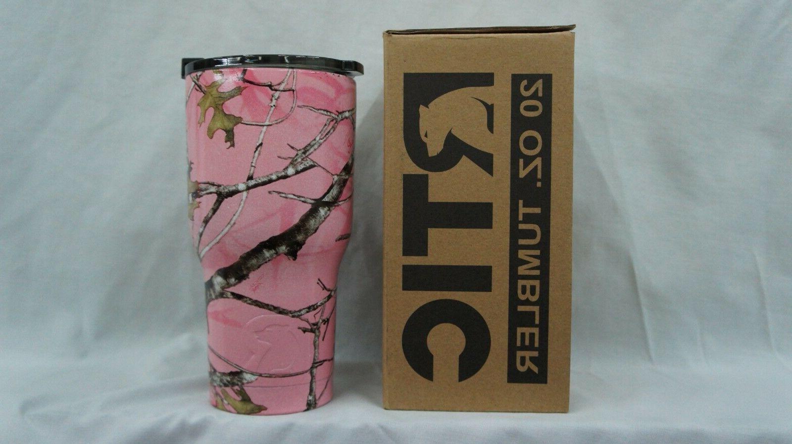 rtic 20 steel true timber pink camo