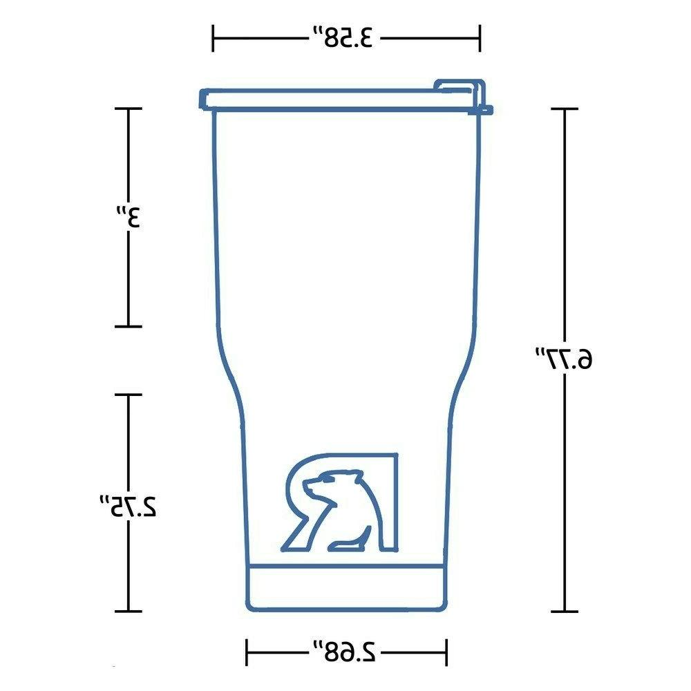 RTIC oz Hot Cold Wall Vacuum Insulated 20oz