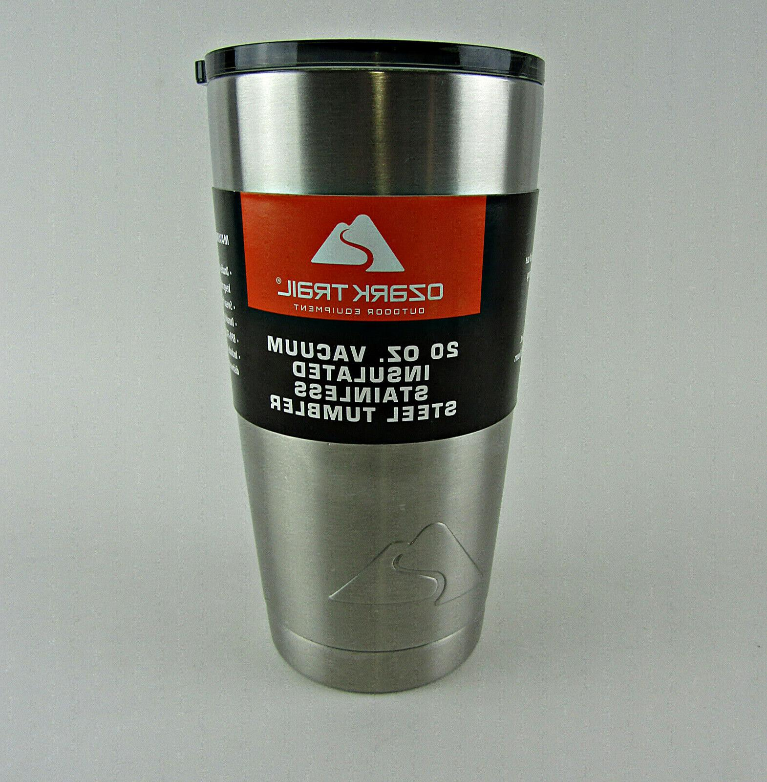 20 oz tumbler insulated stainless steel new