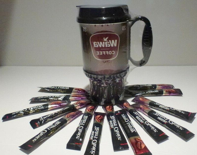 20 oz wawa travel coffee thermal mug
