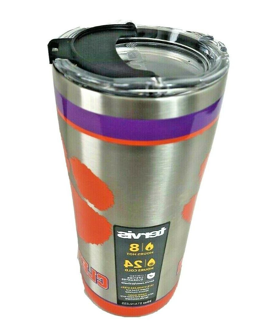 20oz 8hrs 24hrs Cold Tradition Authentic Clemson