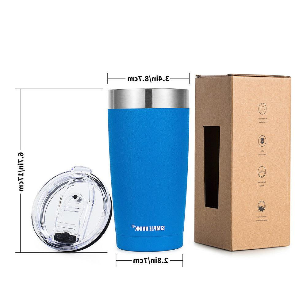 Simple Tumbler Coffee Travel with Splash-Proof Lid