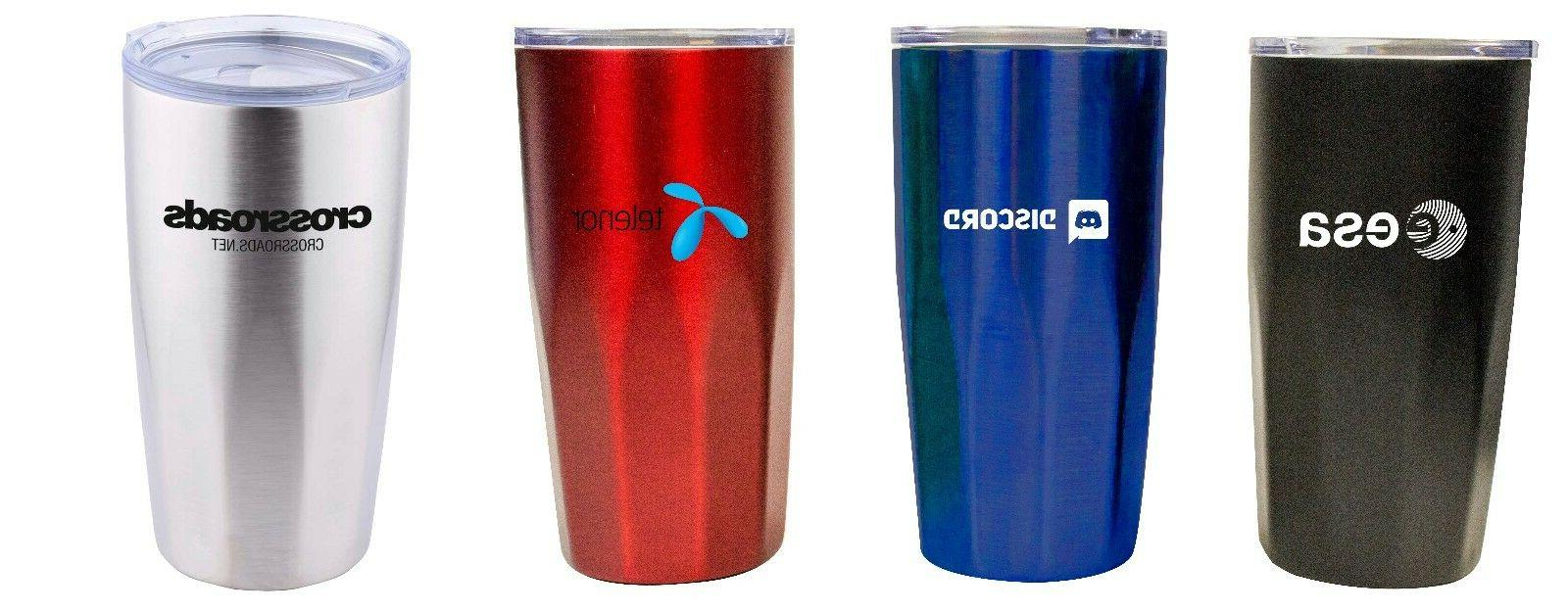 20OZ STAINLESS STEEL DOUBLE WALL TUMBLER KEEP COLD UP TO 16