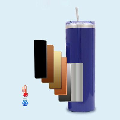 20oz Tumbler With Straw Lid Stainless Vacuum Insulated Free
