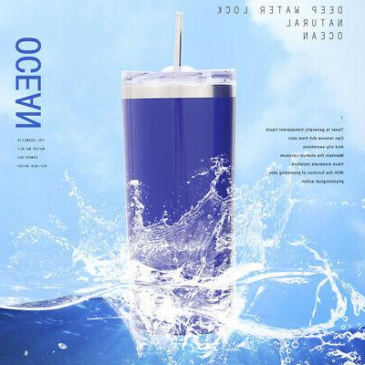 20oz Straw Vacuum Insulated Bottle BPA Free