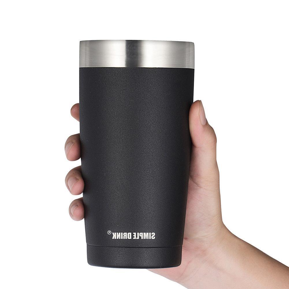 20oz vacuum insulated stainless steel travel mug