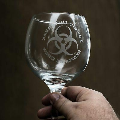 20oz Zombie Outbreak Response Crew Wine