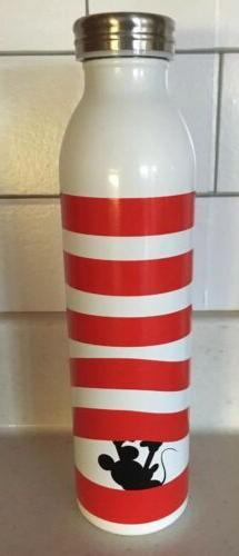 4 Disney Mickey Minnie Mouse Stainless Water Bottle